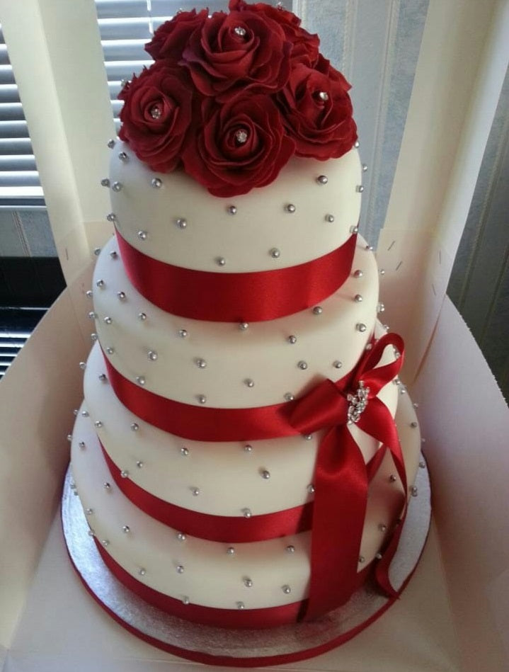 Rose Wedding Cake 12kgwc131