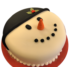 DCC131 Simple Face - Designer Christmas Cakes