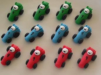 AD033- Cars Edible Fondant Dolls