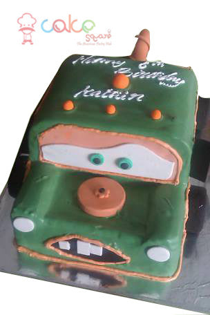 CSDBD462- Green Face Car