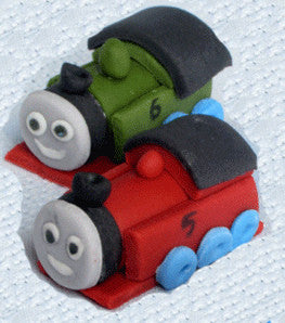 Train Edible Fondant Dolls