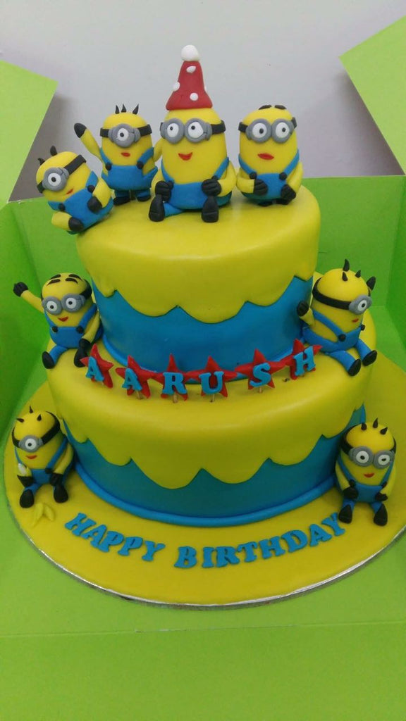 Minion Group cake 5kgbcb (32)