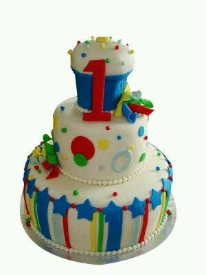 One Birthday Cake 9kgBCB  (18)