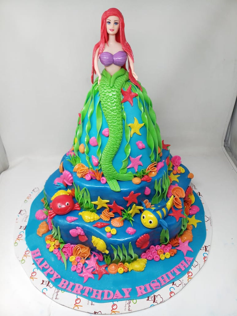 Mermaid cake 9kgbcg (14)