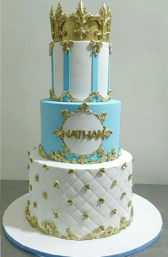 Blue crown cake 9kgbcg (7)