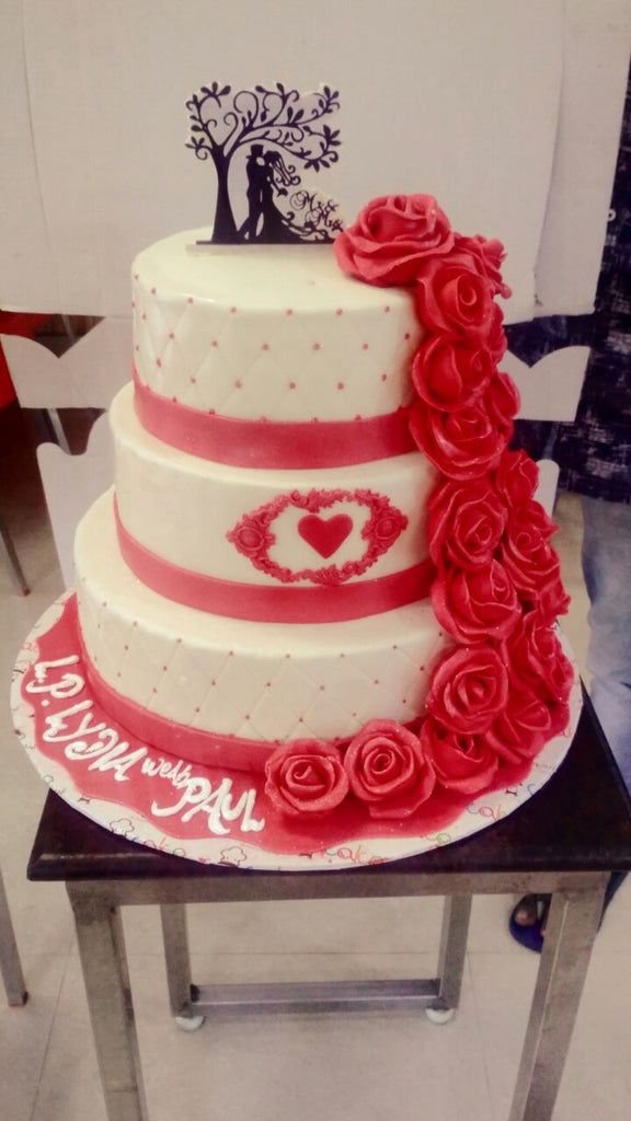 Red rose love cake 9kgwc149