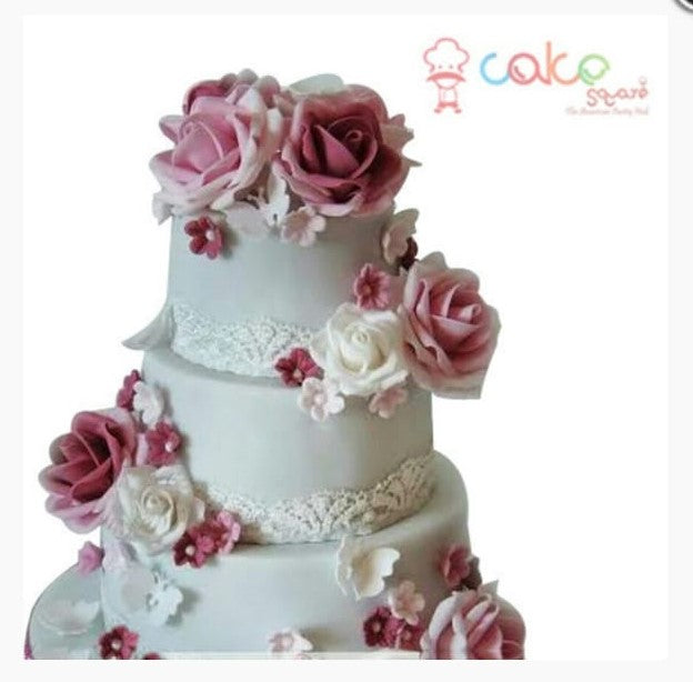 Beauty & Flowers Cake 9kgwc166