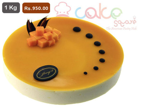 AC007- Mango Cheese Cake