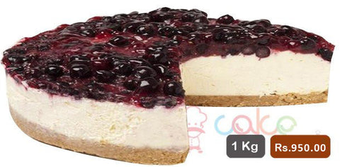 AC009- Black Currant Cheese Cake