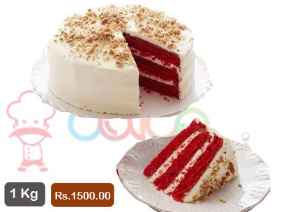 AC011- American Red Velvet Regular Cake