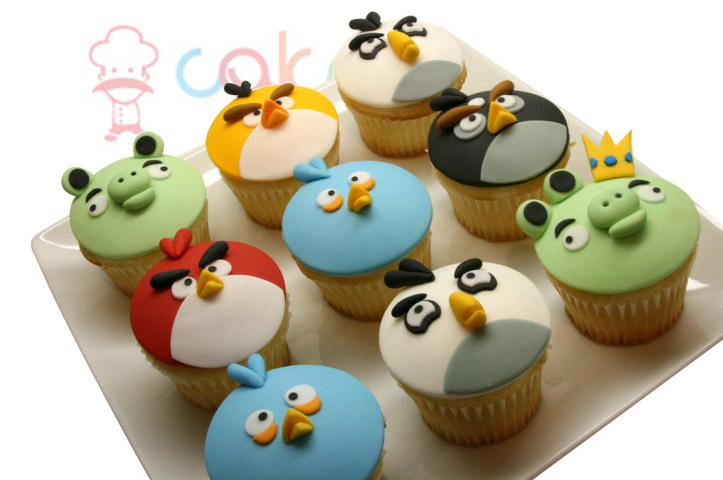 CP002 - Angry Birds Cupcakes