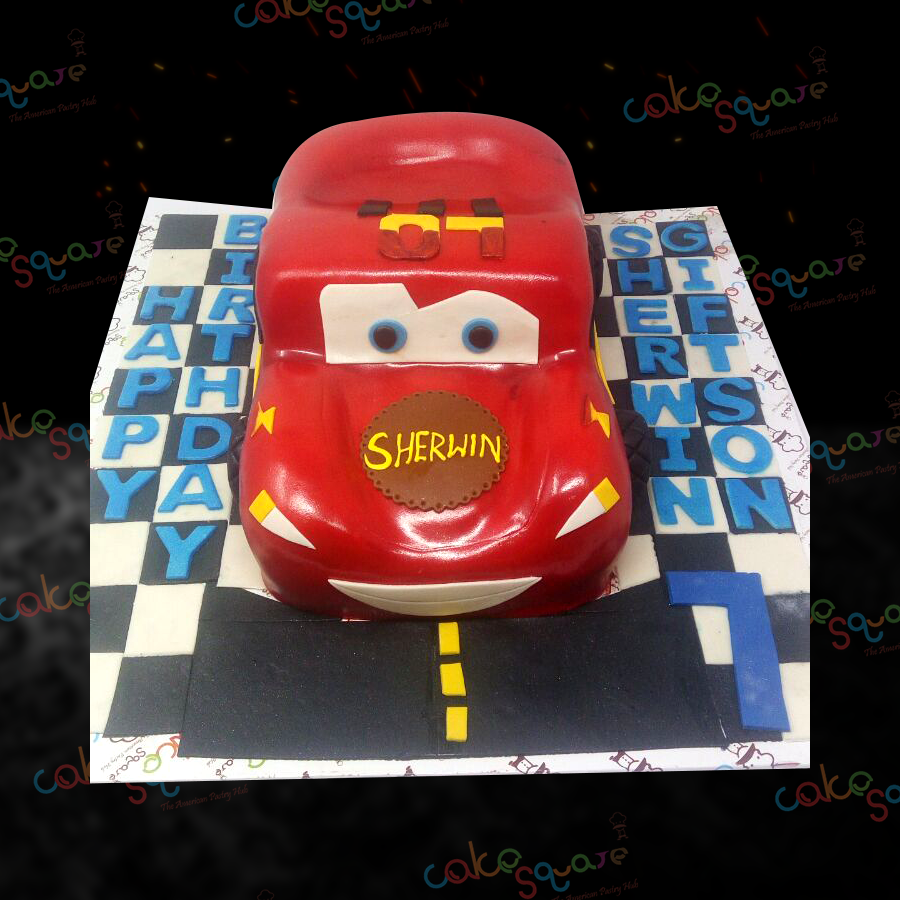 BCB 29082 - Car Birthday Cake