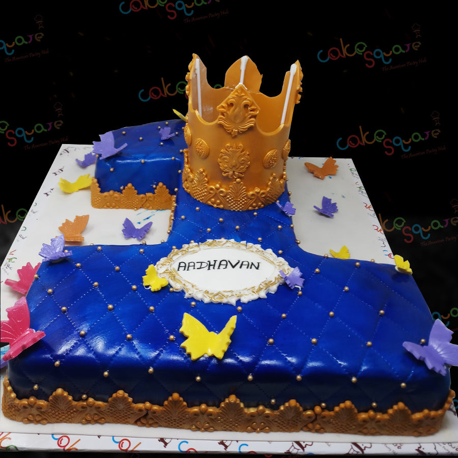 BCB 29099 - Crown Birthday Cake