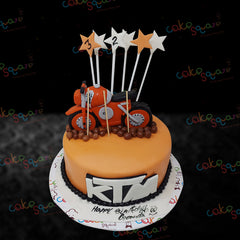 BCB 29101 - KTM Bike Birthday Cake