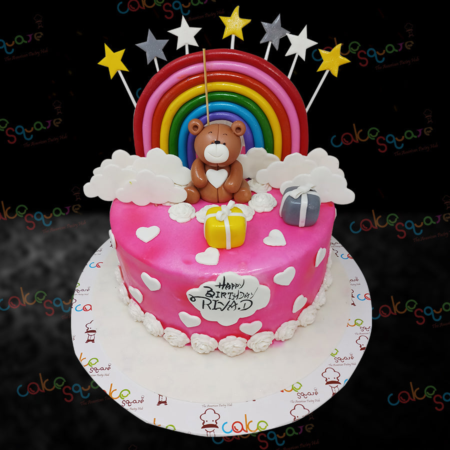 BCB 29103 - Teddy Birthday Cake