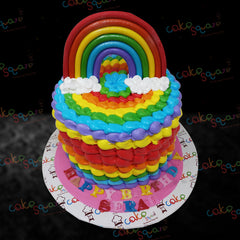 BCB 29104 - Rainbow Birthday Cake