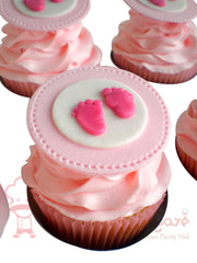 CP003-Baby Shower Cupcakes