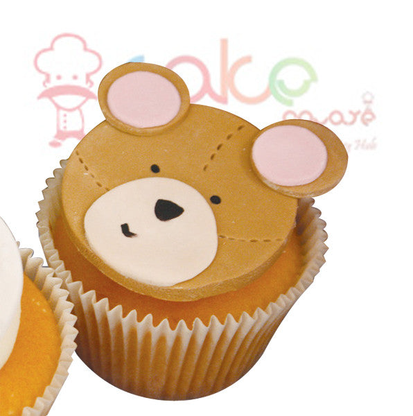 CP005-Birthday Bear Cupcakes