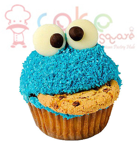 CP007- Blue Monster Cupcakes