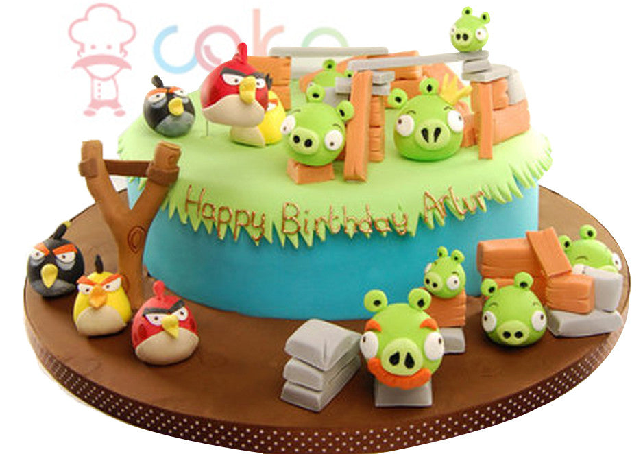 CSD5KG044 - House of Angry Birds