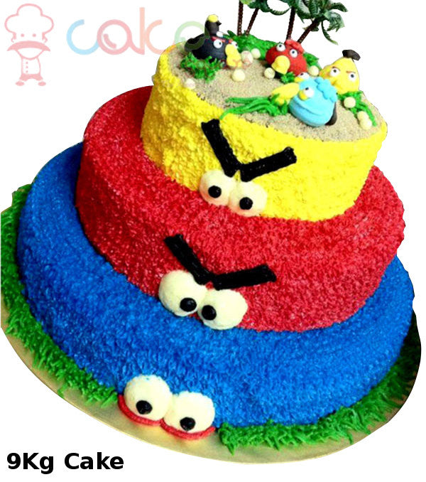 MYP001 - Angry Birds Party