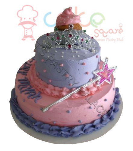 Little Girls Birthday Cake 1 Square Chennai