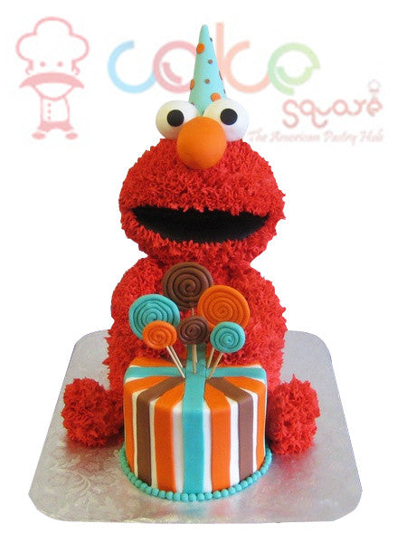 CSDBD209 - Elmo Birthday Cake