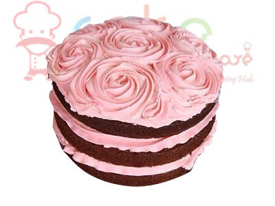 CSDBD220 - Pink Rose with Chocolate