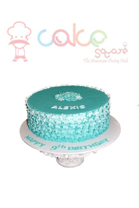 Pretty Girls Birthday Cake 2 Square Chennai