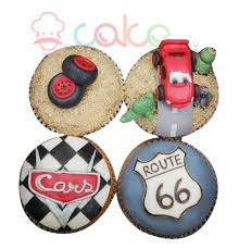 CP009-Car Cup Cakes