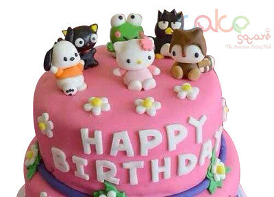 ODC111 Cartoon Theme -1Kg Designer Cakes – Cake Square Chennai