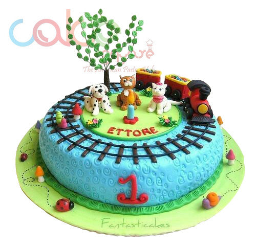 first birthday cake odc143 kid s 1st birthday cake 1kg designer cakes cake 4075