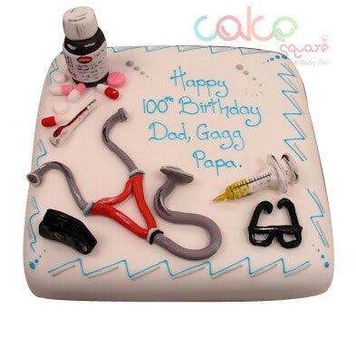 ODC159 Medical Themed Cake