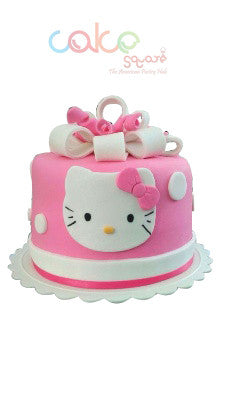 ODC172 Hello Kitty Cake Pink Cake Square Chennai
