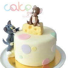 ODC191 Tom And Jerry Fondant1Kg Designer Cakes Cake Square Chennai