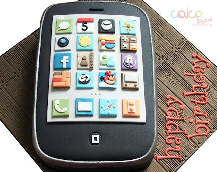 ODC102 Android Mobile Theme Cake - 1 Kg Designer Cakes
