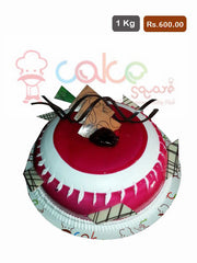 FC002- Strawberry Flavour Cake
