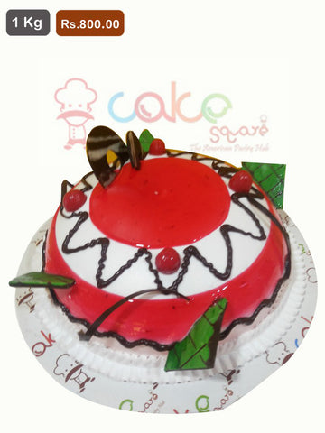 FC015- Strawberry Vanilla Cake