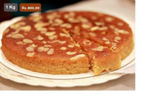 FC016- Honey Anjur Almond Cake
