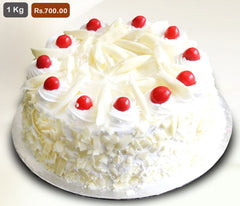 FC023- White Forest Flavour Cake