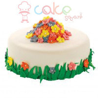 CSDBD608 - Flower Bunch Cake