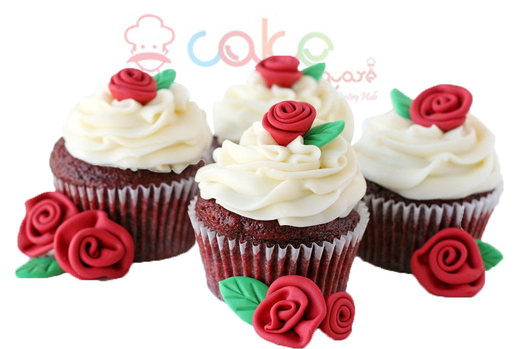 CP019-Flower Treat Cupcakes