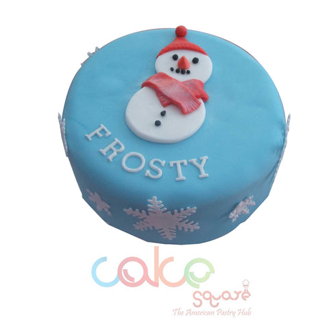 DCC109 Frosty - Designer Christmas Cakes