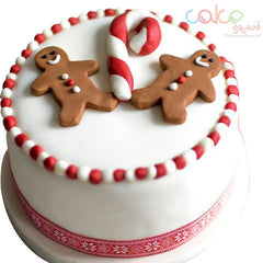 DCC108 Gingerbread - Designer Christmas Cakes