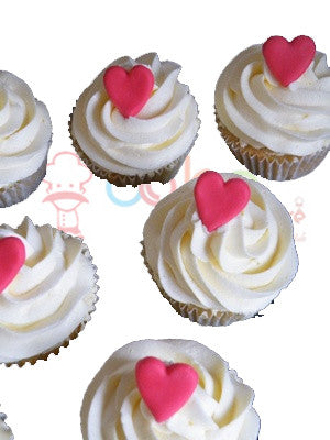 CP093- Hearty Love Cupcakes