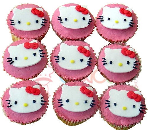 CP060- Hello Kitty Cupcakes