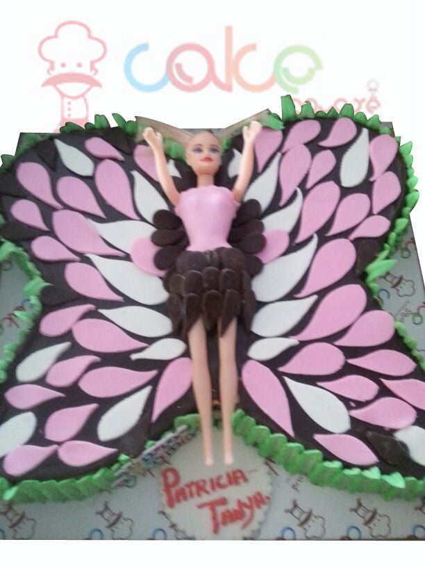 CSDBD375 - Butterfly Barbie