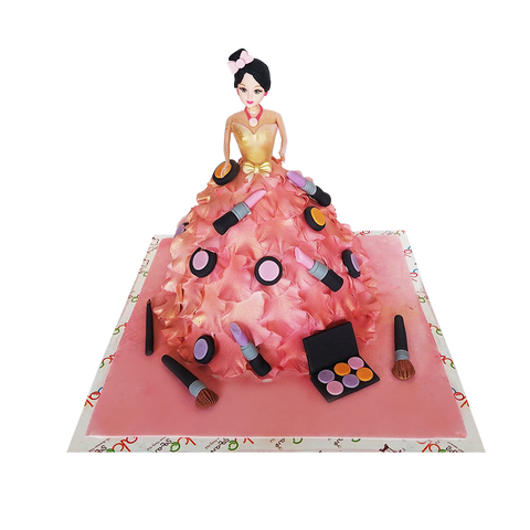 MC004 - Cosmetics Doll Cake