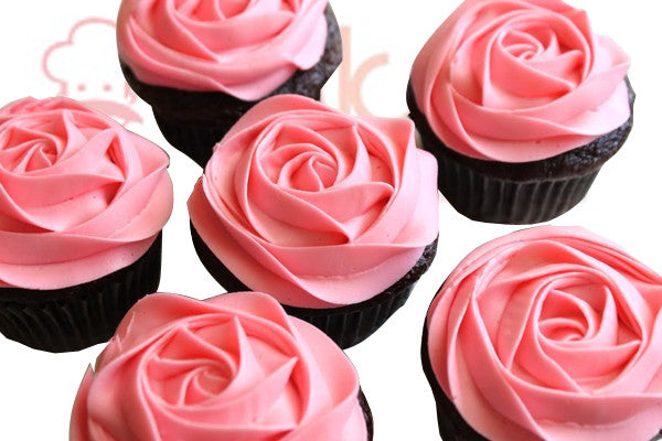 CP076-Rosy Day Cupcakes