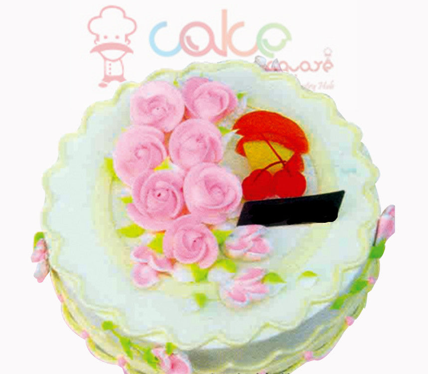 SD001 - Flower Treat cake